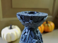 bat candle holder