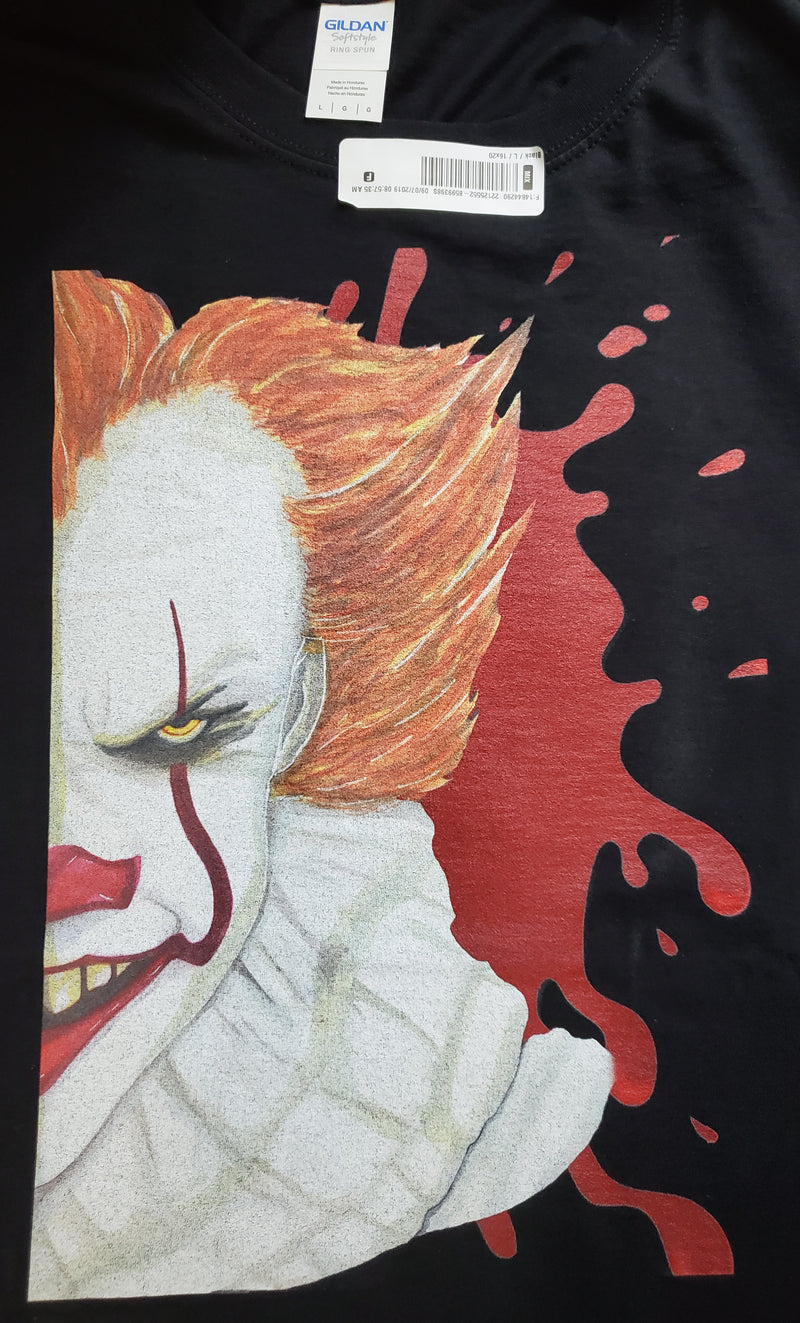 Darkothica Pennywise t-shirt tshirt from movie IT