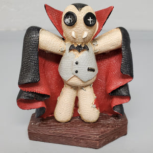 horror statuary vampire dracula collectible gothic home decor bat
