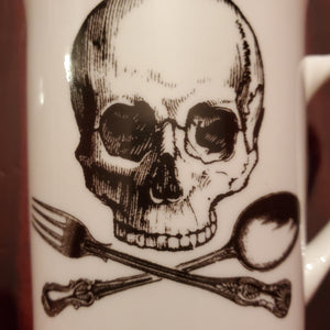 Skull & Cross Utensils Mug