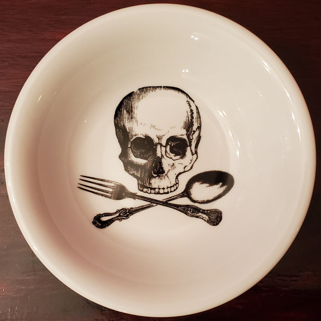 Skull & Cross Utensils Small Bowl