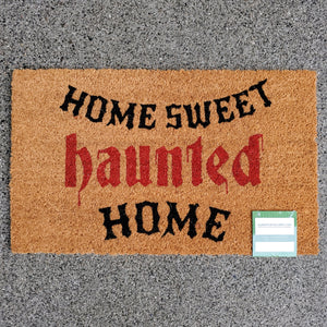 Haunted Home Doormat