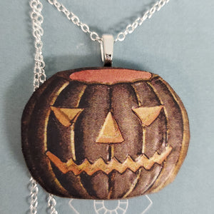 Dark Pumpkin Necklace