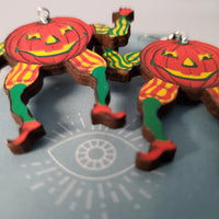 Dancing Pumpkin Earrings