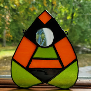 Frankenstein Stained Glass Planchette