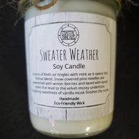 Sweater Weather Soy Candle