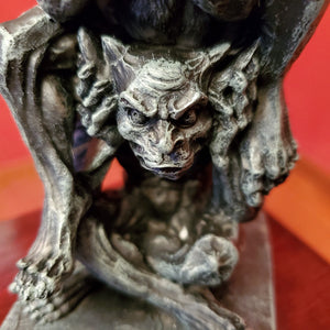 Gargoyle Candle Holder