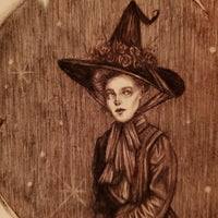 Moon Magic Witch Fine Art Print
