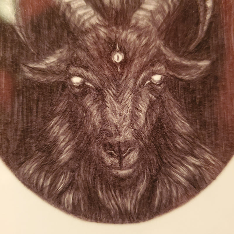 Black Phillip Fine Art Print - The Witch