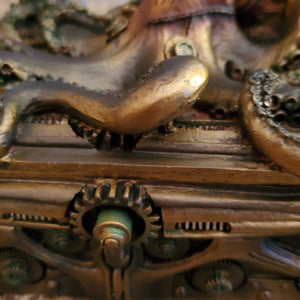 Steampunk Octopus Box