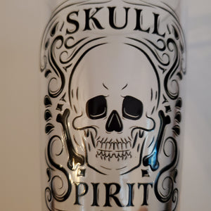 Skull Spirits Pint Glass