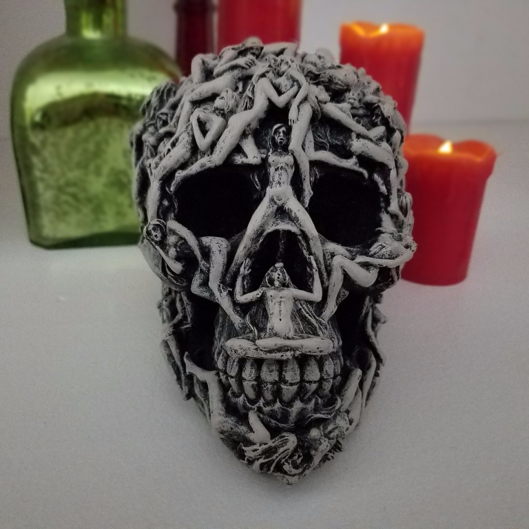hell skull home decor halloween decoration