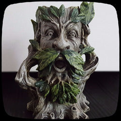 wild tree man candle holder alternative home decor