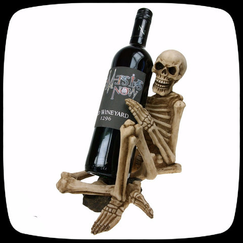 skeleton bottle holder skull halloween decoration alternative home decor