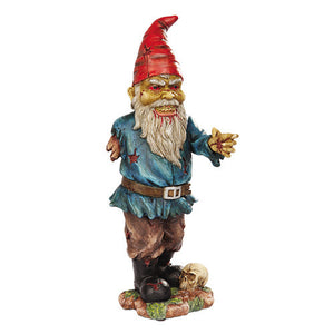 zombie gnome outdoor decor alternative halloween decoration