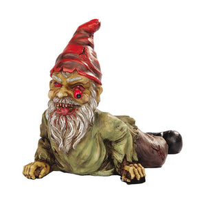 zombie gnome outdoor decor