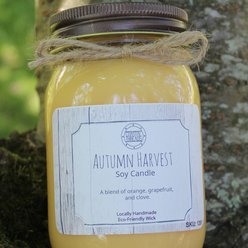 Autumn Harvest Soy Candle