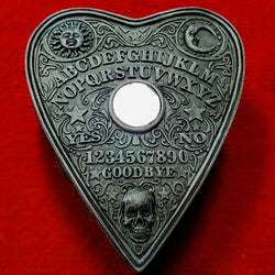 spirit board box spirit board jewelry box spirit board box skull box planchette ouija box