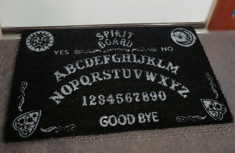 spirit board door mat doormat ouija