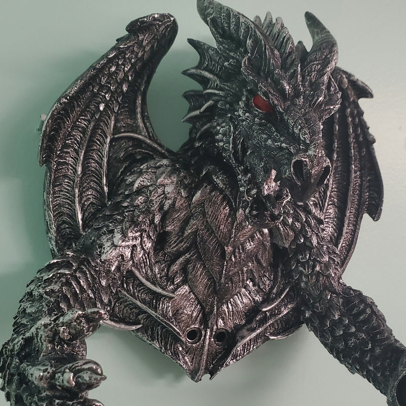 Half Dragon Toilet Paper Holder