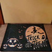 Trick or Treat Doormat