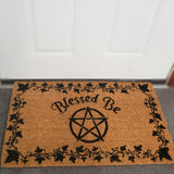 Blessed Be Doormat