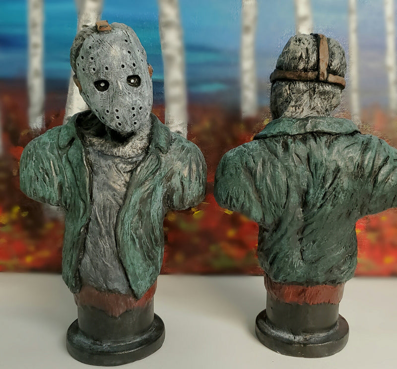 Jason Voorhees bust statue friday the 13th horror