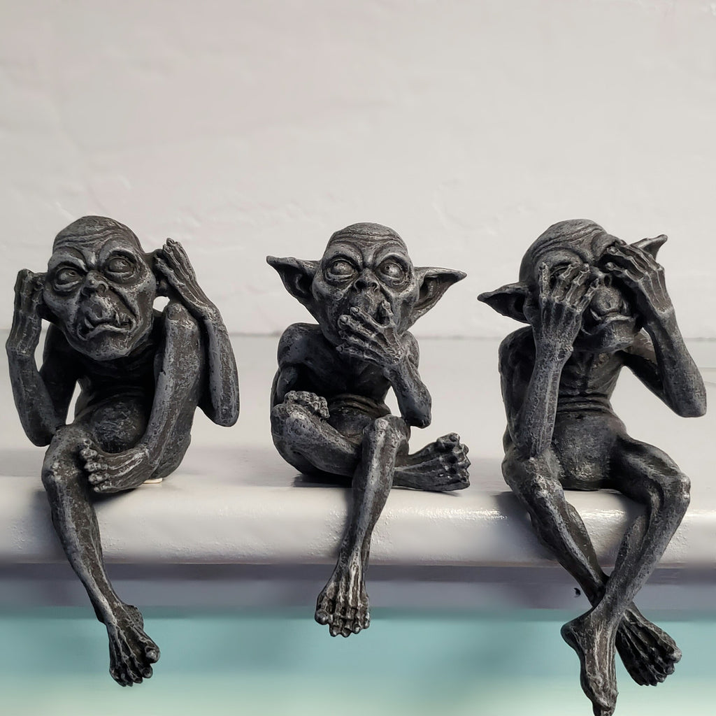 See, Hear, Speak No Evil Goblins