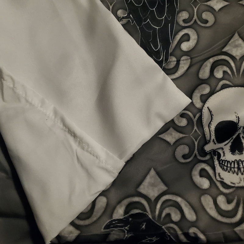 Crow & Skull Bedding