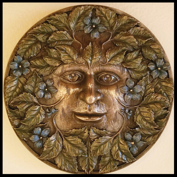 Spring Wall Plaque