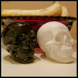 skull salt and pepper shakers kitchen home decor kitchen skull decor skulls