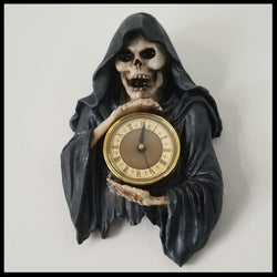 Skeleton Reaper Wall Clock