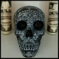 large spirit board ouija skull home decor