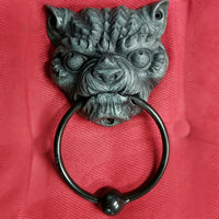 gargoyle door knocker gargoyle outdoor home decor demon door knocker gothic home decor