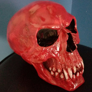 Vampire skull skull decor skull home decor skulls vampires red skull