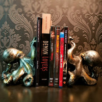 Octopus Bookends