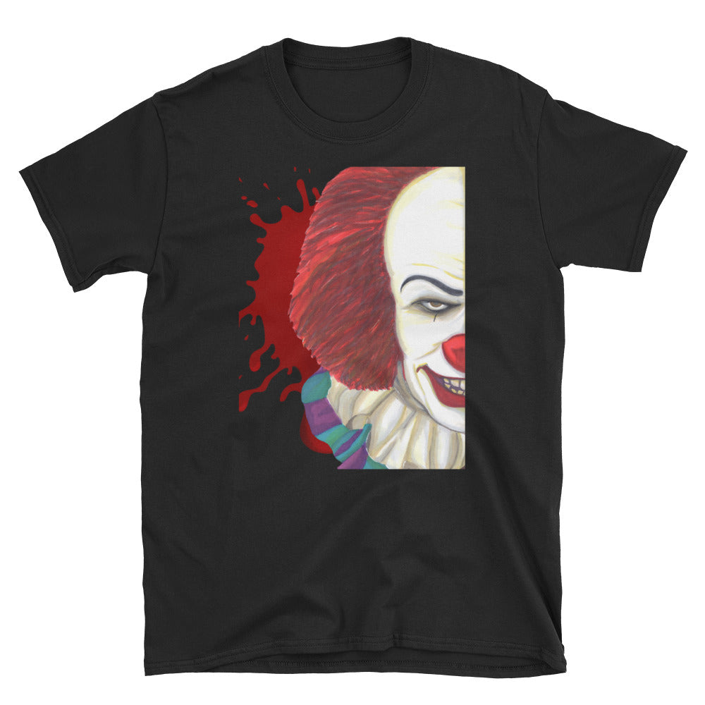 Darkothica Pennywise t-shirt tshirt from horror movie IT stephen king