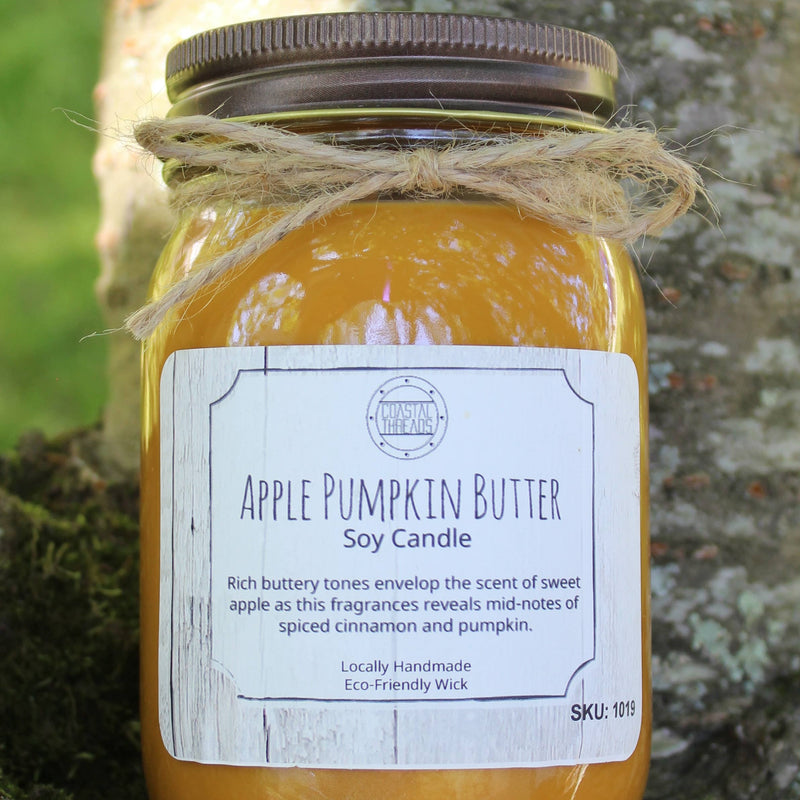 Apple Pumpkin Butter Soy Candle