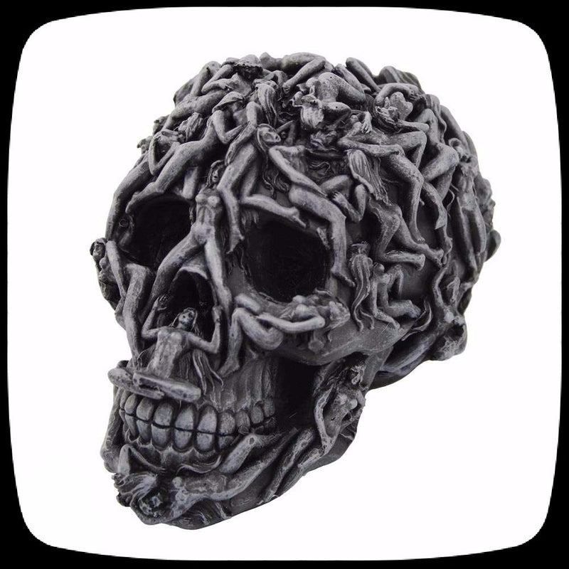 hell skull home decor halloween decoration erotic skull