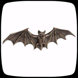 steampunk bat wall decor alternative home decor gothic halloween decoration