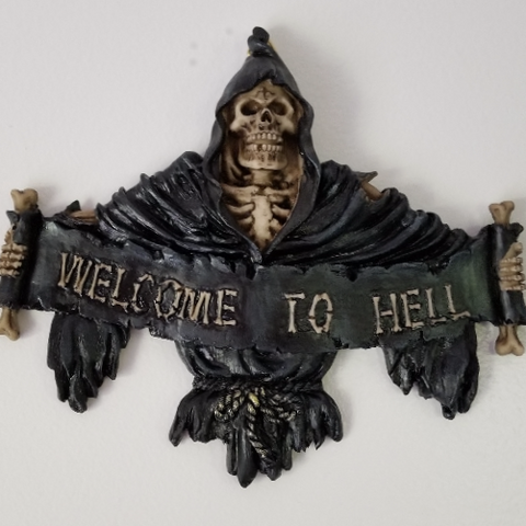 Welcome Skeleton Reaper