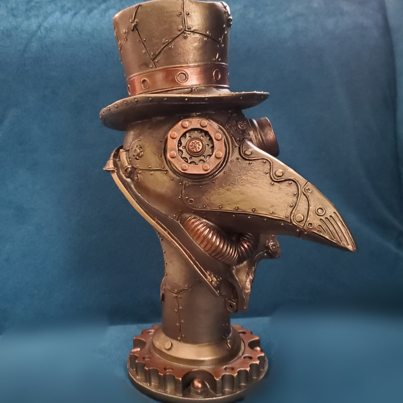 Steampunk Plague Doctor Bust