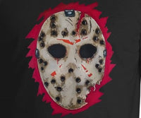 Jason Voorhees mask Friday the 13th t-shirt horror t-shirt men's t-shirt unique horror gift idea