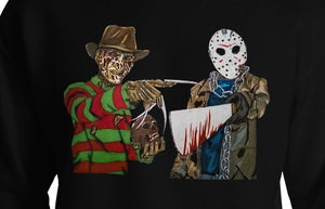 Jason Voorhees mask Friday the 13th t-shirt horror t-shirt men's t-shirt unique horror gift idea Freddy Krueger Nightmare on Elm Street