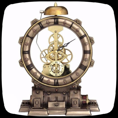 Steampunk clock alternative home decor high quality