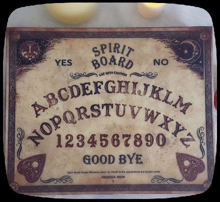 spirit board ouija jewelry box gift idea alternative home decor
