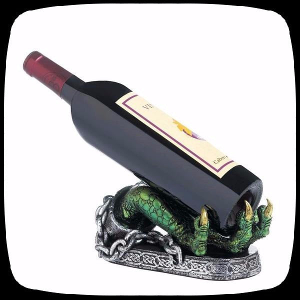 dragon bottle holder wine halloween decoration