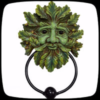 tree man door knocker fantasy outdoor decor alternative
