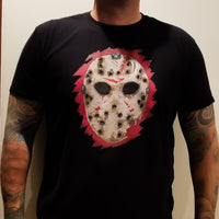 darkothica jason voorhees friday the 13th horror movie tshirt t-shirt