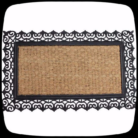 doormat door mat gothic home decor outside halloween decorations